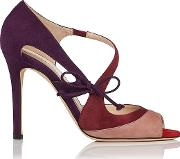 Suede , Lucile Multi Coloured  Courts