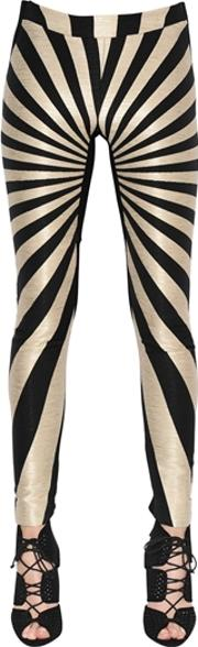 Gareth Pugh , Graphic Jacquard Leggings