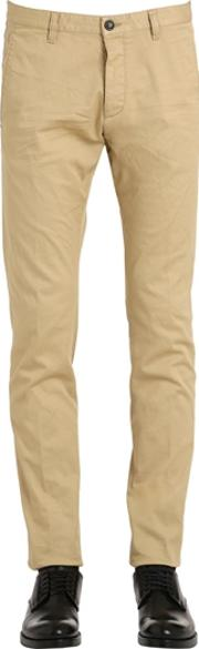 Dsquared2 , Tidy Stretch Cotton Drill Chino Pants