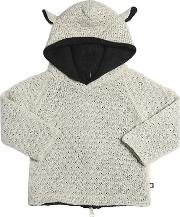 Oeuf , Sheep Baby Alpaca Doubled Tricot Sweater