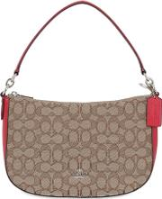 Coach Ny , Coated Canvas Shoulder Bag