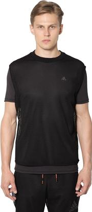 Adidas By Kolor , Climachill Mesh Running T Shirt