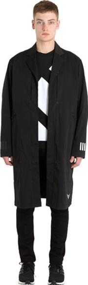 Adidas Originals By White Mountaineering , Technical Trench Coat