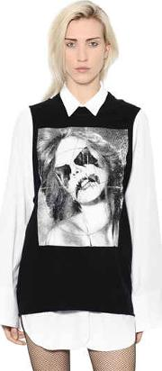 Alyx , Rubberized Face Printed Cotton Jersey