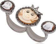 Amedeo , Monkeydeo Double Finger Ring