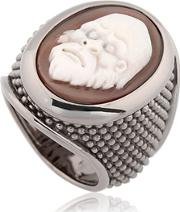 Amedeo , Thimble Cameo Ring