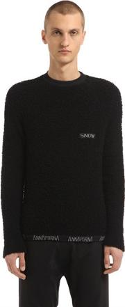 Annapurna , Cashmere Sweater W Embroidered Detail