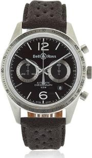 Bell & Ross , Br 126 Gt Chrono Steel Watch