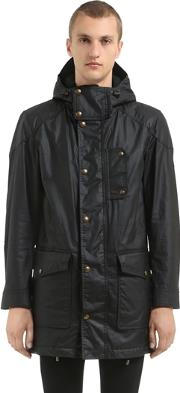 Belstaff , Kentchurch Waxed Cotton Parka