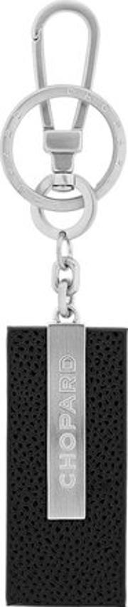 Chopard , Classic Embossed Leather Key Chain