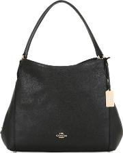 Coach Ny , Edie Leather Shoulder Bag