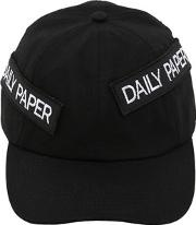 Daily Paper , Cotton Baseball Cap W Patches