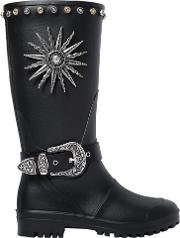 Fausto Puglisi , 30mm Studded Rubber Boots