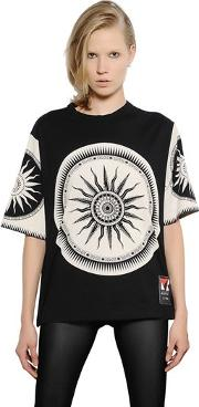 Fausto Puglisi , Limited Edition Printed Cotton T Shirt