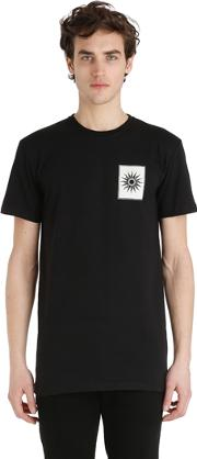 Fausto Puglisi , Royalty Printed Cotton Jersey T Shirt