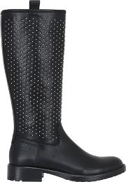 Florens , Studded Leather Boots