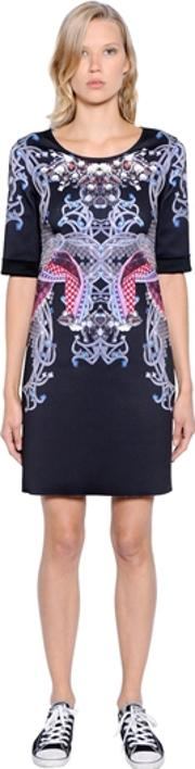 Gaoweixinzhan , Printed Neoprene Dress