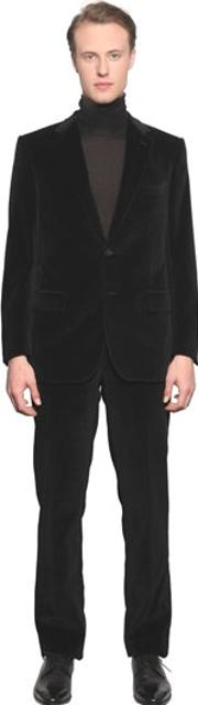 Larusmiani , Cotton Velvet Suit