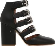 Laurence Dacade , 90mm Maja Buckles Leather Ankle Boots