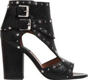 Laurence Dacade , 95mm Rush Stars Cutout Leather Boots