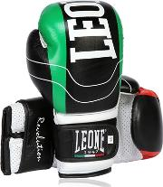 Leone 1947 , 10oz Revolution Leather Boxing Gloves