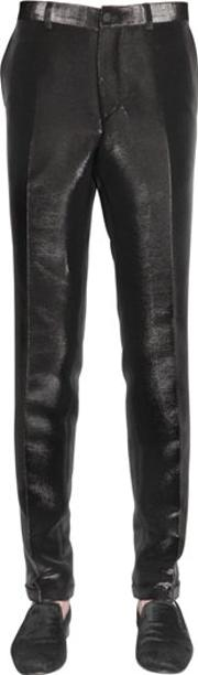 Lords & Fools , 17.5cm Side Band Lurex Pants