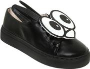 Minna Parikka , Eyes Patches Nappa Leather Sneakers