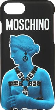 Moschino , Statue Printed Iphone 7 Plus Cover