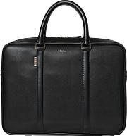 Paul Smith , City Embossed Leather Briefcase