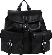 Red Valentino , Medium Leather Backpack