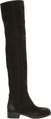 Strategia , 30mm Suede Over The Knee Boots
