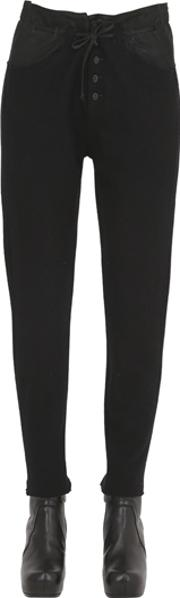 Transit Parsuch , Boiled Wool & Leather Pants
