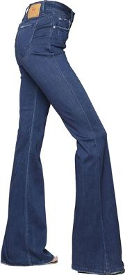 Dont Cry , Flare Stretch Cotton Denim Jeans