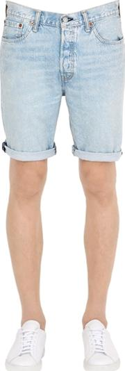 Levis Red Tab , 501 Cotton Denim Shorts