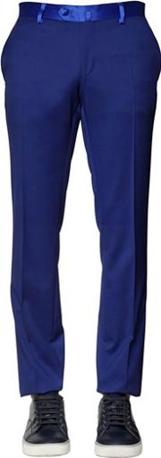 Lords & Fools , 18 Cm Natural Stretch Cool Wool Pants