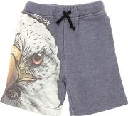 Madson Discount , Eagle Printed Light Sweat Shorts