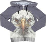 Madson Discount , Printed Recycled Light Cotton Sweatshirt