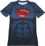 Under Armour , Heatgear Fabric Superman Fitted T Shirt
