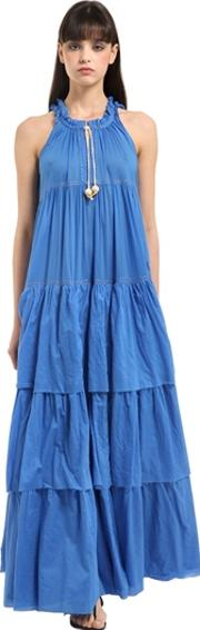 Yvonne S , Layered Cotton Voile Maxi Dress