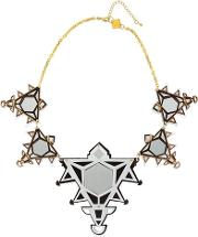 Anisha Parmar London , Ivory Collection Triangles Necklace