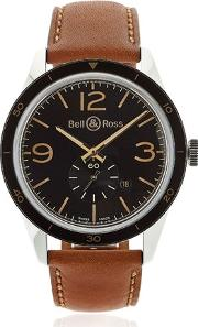 Bell & Ross , Br 123 Steel Golden Heritage Watch