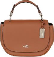 Coach Ny , Nomad Leather Top Handle Bag