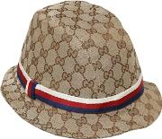 Gucci , Gg Supreme Cotton Canvas Hat