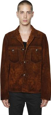 Htc Hollywood Trading Company , Suede Western Style Jacket