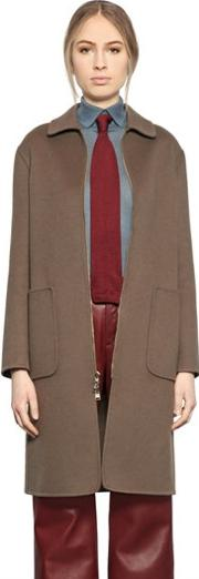 Larusmiani , Zip Up Cashmere Coat