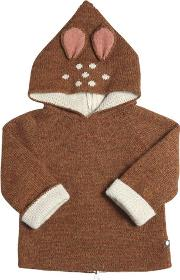 Oeuf , Bambi Baby Alpaca Doubled Tricot Sweater