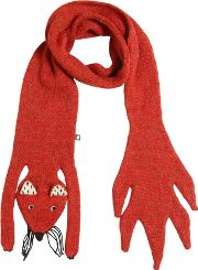 Oeuf , Squirrel Baby Alpaca Double Tricot Scarf