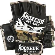 Boxeur Des Rues , Tribal Leather Mma Gloves