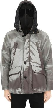Ai Riders On The Storm , Color Changing Ripstop Parka W Faux Fur