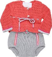 Etci , Handmade Cotton Tricot Cardigancoulotte